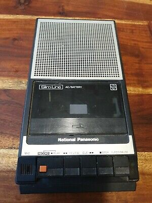 National Panasonic RQ - 2734 cassette Player Recorder Vintage, tested working