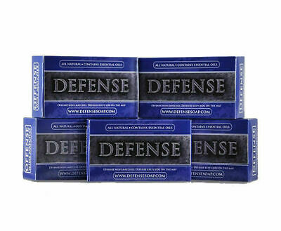 Defense Soap 12 PACK Natural Antimicrobial Therapeutic Body Bar Soap