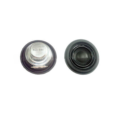 Loudspeaker 4 Ohm 5 W Car Computer Mini Speaker 40mm DIY Full Range Round Shape