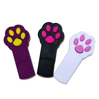 Pet Cat Dog Interactive Sport Automatic Red Laser Pointer Exercise Toy