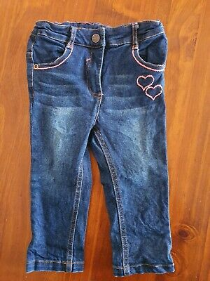 Baby Girl Ollies Place Jeans Size 1