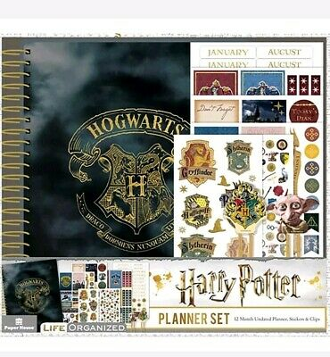 Paper House Harry Potter Undated Planner Set PLA0005