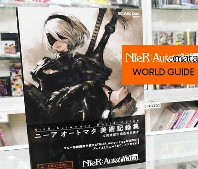 NieR: Automata World Guide Game Art Book Setting Material Strategy COLLECTORS