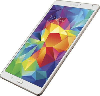 "SAMSUNG GALAXY TAB S 16GB 8.4"" - White / Gold - WiFi/3G Tablet Computer"