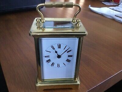 Antique French Carriage clock in gwo