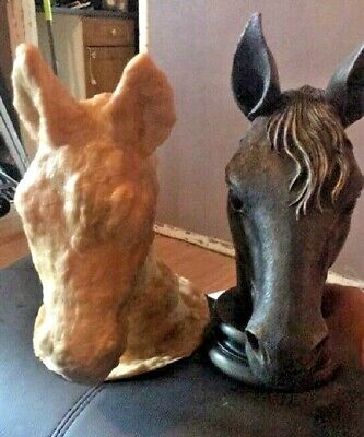 Large Horse Head Latex Moulds x 2 Normal Price £77 - NO RESERVE