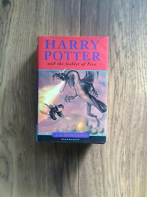 Hb Book Harry Potter And The Goblet Of Fire 1st First Edition JK Rowling