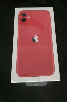 Apple iPhone 11 (PRODUCT)RED - 64GB (Unlocked) A2221 (CDMA + GSM) New and Sealed