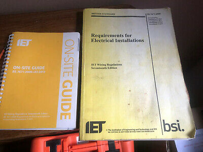 IET Wiring Regulations BS7671:2008 Amd 3 And On Site Guide
