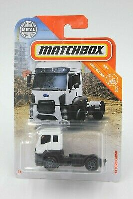 2019 issue MATCHBOX #28 /'13 Ford Cargo Tractor Truck NEW in BLISTERPACK