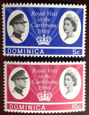 Dominica 1966 Royal Visit MNH