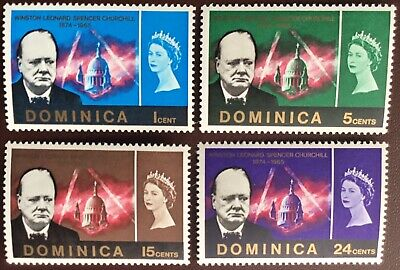 Dominica 1966 Churchill MNH