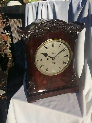 Bracket Clock By Dent London High Quality Clock Chain Double Fussee