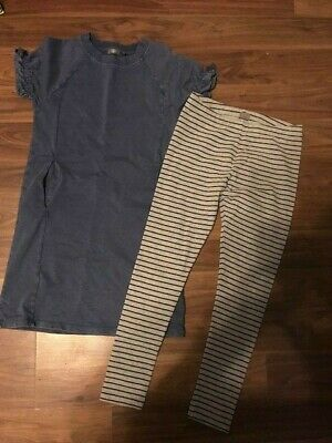 Girls Dress/Tunic & Leggings Outfit, Next, Age 11
