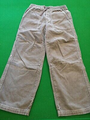 Mini Boden Brown Corduroy Trousers Age 8 Years