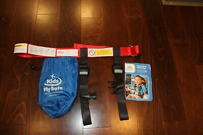 Kids Fly Safe Airplane Safety Harness Straps FAA Approved