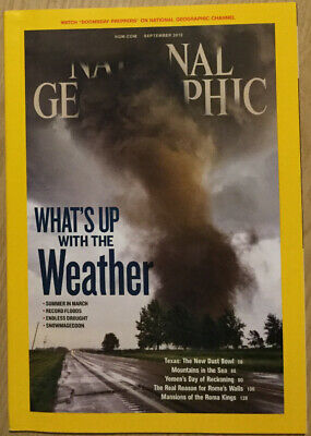 National Geographic - September 2012 - What's Up With The Weather
