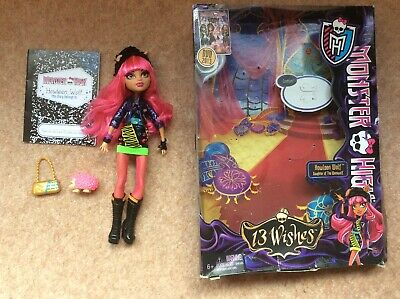 MONSTER HIGH Howleen Wolf 13 Wishes doll with box