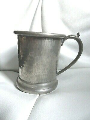 My Lady 797 English Hammered Pewter Small Tankard George Lee & Company Sheffield