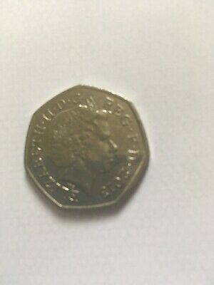 2013 Christopher Ironside 50p fifty pence coin. Rare