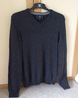 John Lewis Mens Jumper Merino And Cashmere Wool. Large