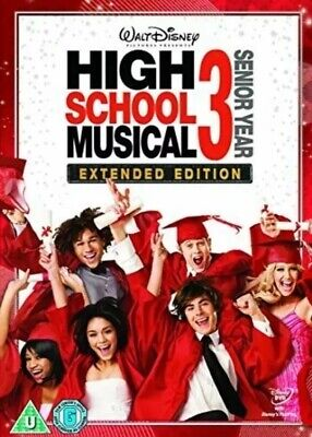 High School Musical 3: Senior Year DVD: Extended Edition **BRAND NEW & SEALED**