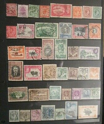 BRITISH EMPIRE  QV.-KGVI mixed mint and used lot 1