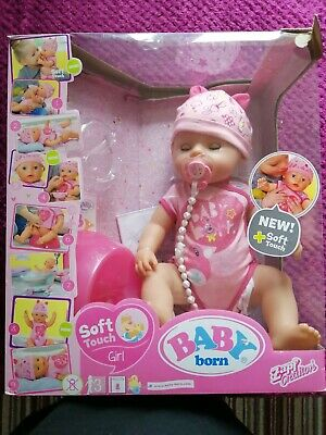 Baby Born, soft touch girl doll, Zapf Creaions, opened but played with once.
