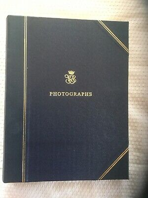 Brand New Orient Express Leather Bound Photograph Album Made By Noble Macmillan
