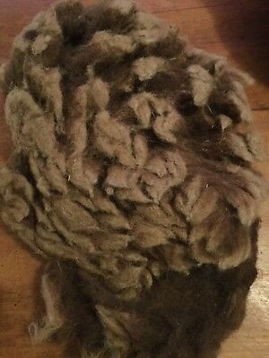 Castlemilk Moorit Sheep Fibre/fleece, Spinning, Needle Felting