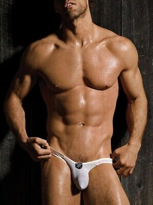 NEW RARE men's GREGG HOMME showoff thong | small | white | free ship