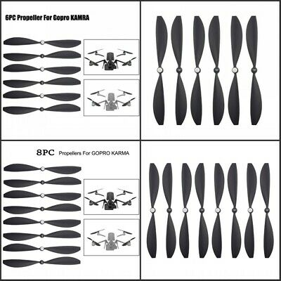 2//4//8 pcs Drone Propeller Blade Wings Tool Accessories Parts For GoPro Karma CH