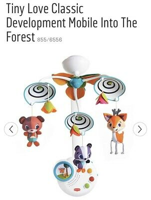 Tiny Love Classic Into The Forest Development Mobile Nightlight With Music Box