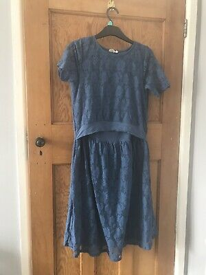 Milker Nursing Dress. Worn Once To A Wedding. Size 12/14