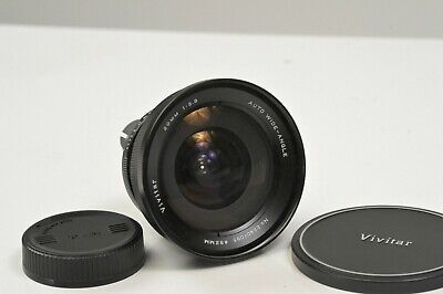 Vivitar Wide Angle Lens 20mm f3.8 Nikon Mount EXC Condition FILM MAKER