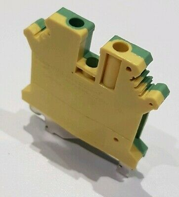 2.5mm Earth Terminal Block Connector DIN Rail 28-10AWG