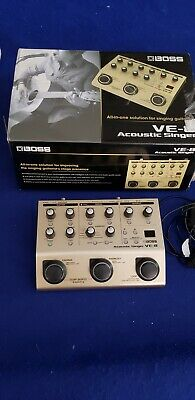 Boss VE-8 Acoustic Singer --Used Once, Mint Condition !