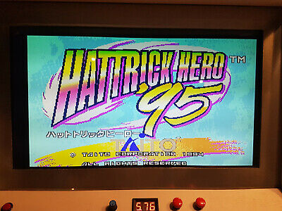 TAITO F3 Motherboard JAPAN with Hattrick Hero ´95 cart game working 100%