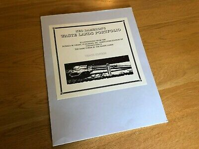 Ned Dameron Waste Lands Portfolio - Stephen King - trade edition (FREE SHIPPING)