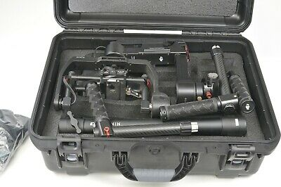 DJI RONIN M 3-Axis Gimbal Stabilizer with Bag (2 batteries & remote) NANUK CASE
