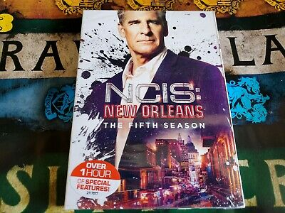 NCIS: New Orleans: The Fifth Season 5 (DVD, 2009, 6 Disc)