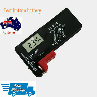 Battery Tester AA AAA DC 9V 1.5V Button Cell Household Battery Checker Indicator