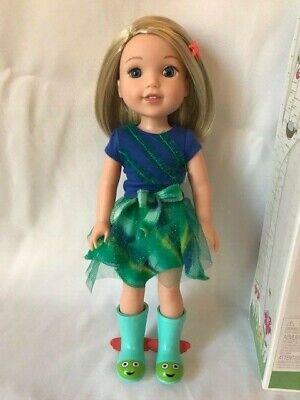 American Girl Wellie Wishers Camille Doll, Complete Doll, Outfit, Box