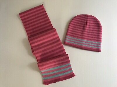 Girls Scarf and Hat New