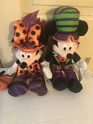 Lot Disney Parks Mickey Minnie Mouse Halloween Trick R Treat New 2016