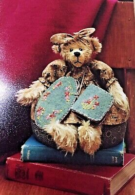Chloe Adele Bear & Chatelaine Pattern, Pollys Keepsakes By Polly
