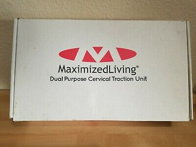 Maximized Living Dual Purpose Cervical Traction Unit New Open Box Pettibon
