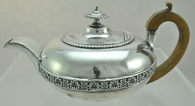 Antique Creswick Old Sheffield Plate OSP Silverplate Teapot 1820