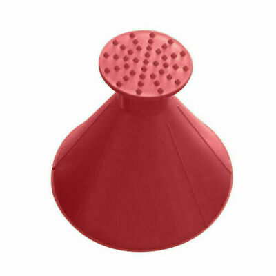 1RED Car Windshield Ice Snow Remover Scraper Tool Cone Shaped Round Funnel IR4