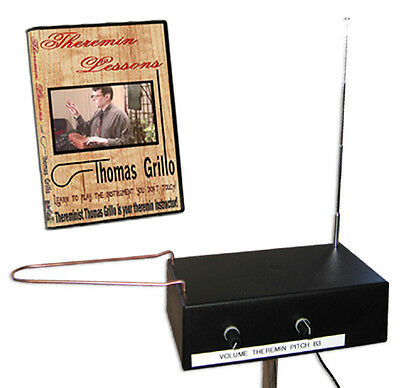 Burns B3 Theremin - Pitch AND Volume Antennas plus 'Theremin Lessons' DVD